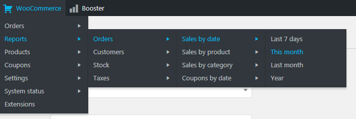WooCommerce Admin Bar - WooCommerce Admin Bar Addition
