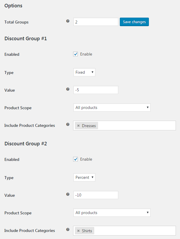woocommerce-shop-global-discount-admin-settings
