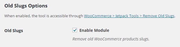WooCommerce Remove Old Products Slugs