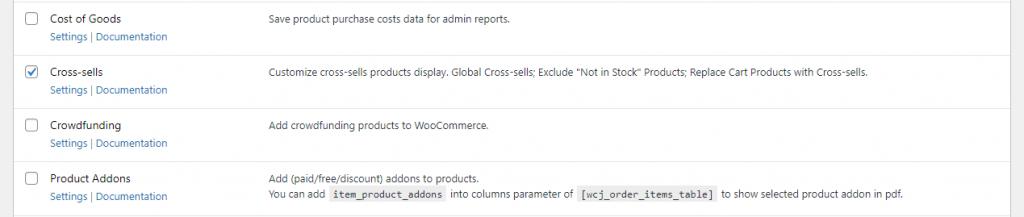WooCommerce Cross-sell module